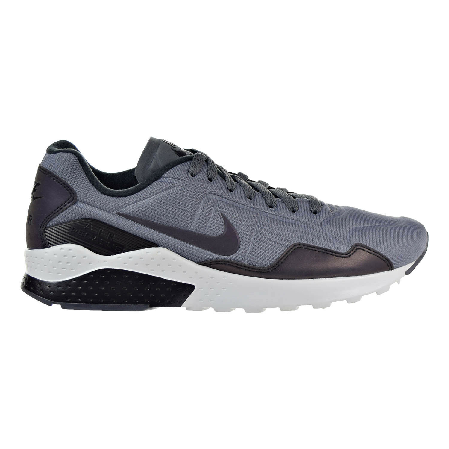 Nike Air Zoom Pegasus 92 Premium Men's Shoes Dark Grey/Black/Platinum 844654-004