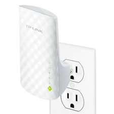 TP Link AC750 Dual Band WiFi Range Extender Extends Smart Home & Alexa Devices