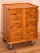 Gerstner International Gi R24 5 Drawer Oak Amp Veneer Roller Cabinet Tools Hobby