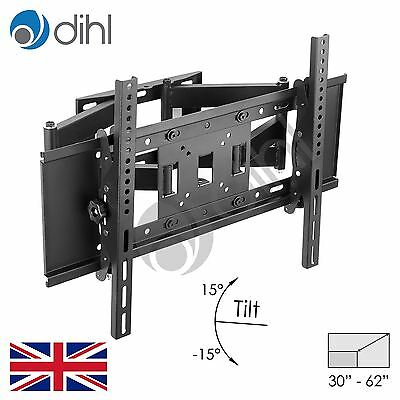 "Swivel Tilt Wall Mount Bracket 32 37 40 42 46 50 55 60 62 65"" LED Plasma 3D TV"
