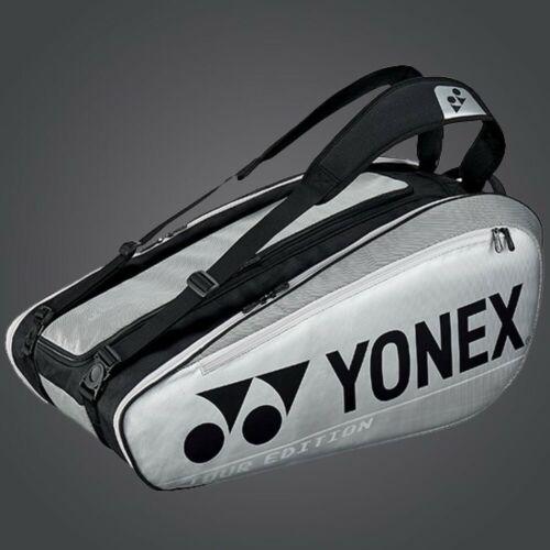 Badminton Racquet Pro Thermal Bag BA92029EX SILVER YONEX 9 Tennis//12 2020 New