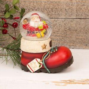 Inicio Feliz Navidad.Detalles De Feliz Navidad Santa Claus En El Inicio Bola De Nieve Waterball De Cristal Xm3983 Ver Titulo Original