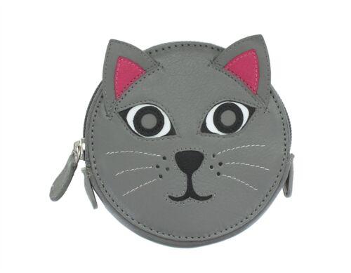 Mala Leather Animale Design Rotondo In Pelle Portamonete 4155 /_ 11