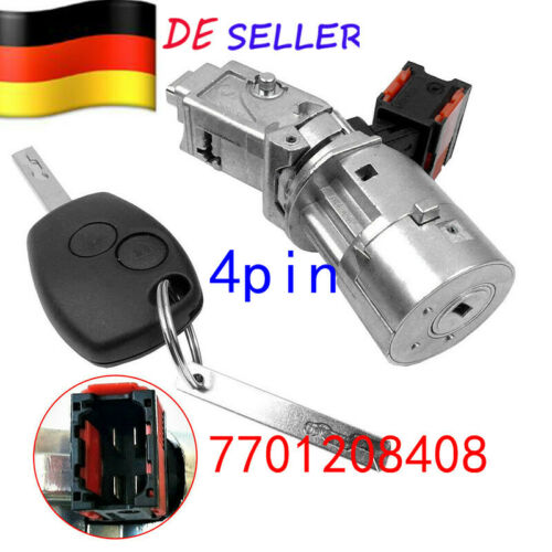 Zündschloss Für Renault Clio 3 Kangoo 2 Modus Master 3 Twingo 2 Fluence Trafic 3