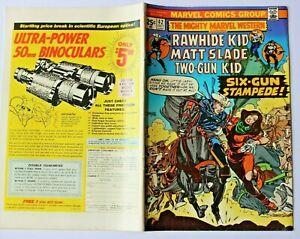 THE MIGHTY MARVEL WESTERN  - RAWHIDE KID USA  - Nr. 42 von 1975    Rauhfell Kid