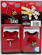 University of Louisville Wrist/Arm Band w/Embroidered Team Logo--Basketball