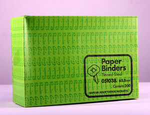 Premier-agarre-papel-aglutinantes-63-5-Mm-Sin-Arandelas-Caja-200