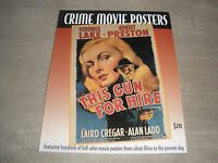 Vintage Hollywood Movie Crime Poster Book W/100's Full Color Poster Prints Rare