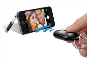 WEDO-Bluetooth-Selfie-Maker-Fernausloeser-Teleskopstaender-Selfie-Stick-Touchpen