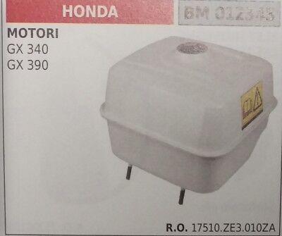 17555.ze3.010za Serbatoio Benzina Motore Honda Gx340 Gx390 Gx 340 390 6.1 Litri