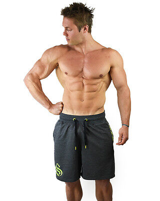 STRONG LIFT WEAR Gym Shorts workout pants dri-fit aesthetic black grey red