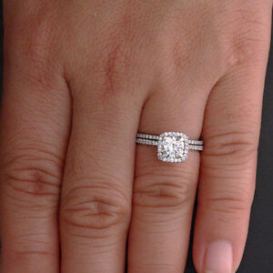 1-81-Ct-Diamond-Engagement-Rings-Solid-14Kt-White-Gold-Cushion-Cut-Size-N-P