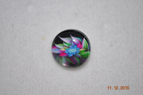 Snap button metal charm assorted FLOWER covers for snap bracelets 18-19MM
