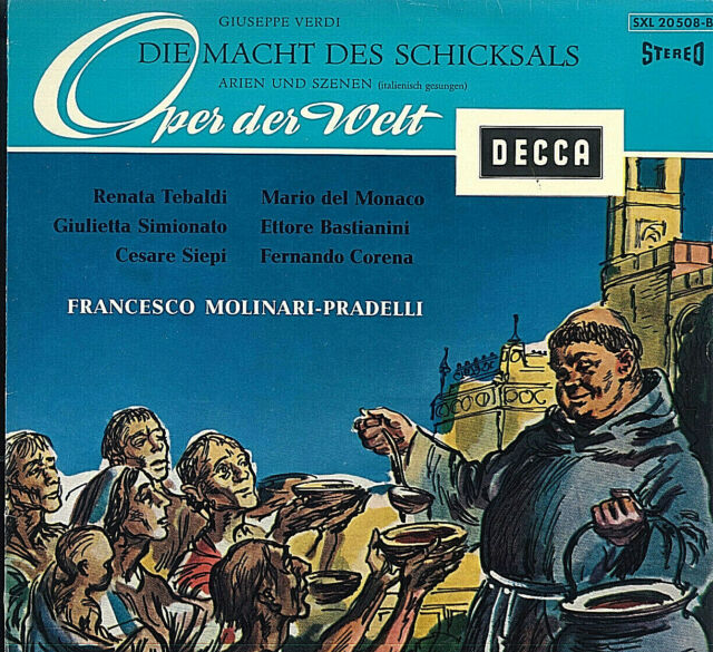 Giuseppe Verdi ~ Die Macht Des Schicksals ~ Renata Tebaldi, Giulietta Simionato,