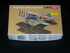 MAQUETTE- SPAD XIII WW I FIGHTER - MINICRAFT  - 1/72 - MODEL KIT -  COMPLETE