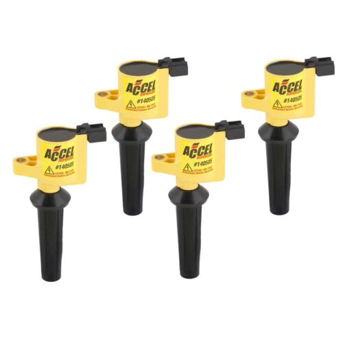 Mazda 2.0//2.3L-I4 SuperCoil 4-Pack ACCEL 140505-4 Ignition Coil