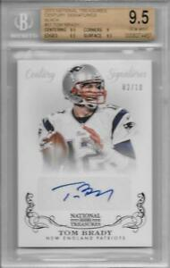 2013-Tom-Brady-National-Treasures-Century-Auto-Black-BGS-9-5-Gem-Mint-2-10