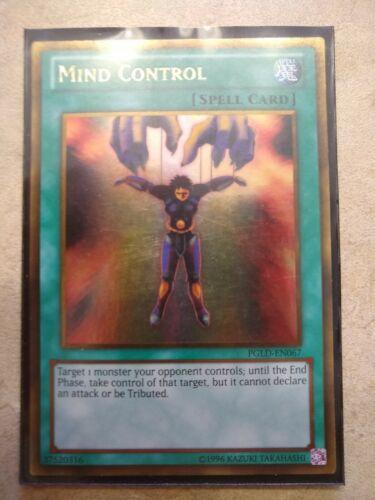 Yugioh Mind Control PGLD Near Mint
