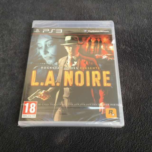 PS3 L.A. Noire FRA CD état neuf