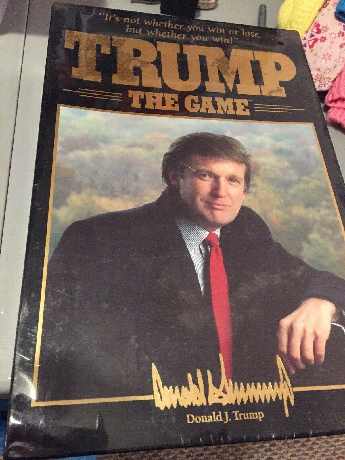 Trump The Game ny förseglade 1989 årgång