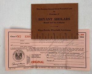 Vintage-Fishing-License-1936-Winn-Parish-Winnfield-Louisiana-Bryant-Sholars-e1