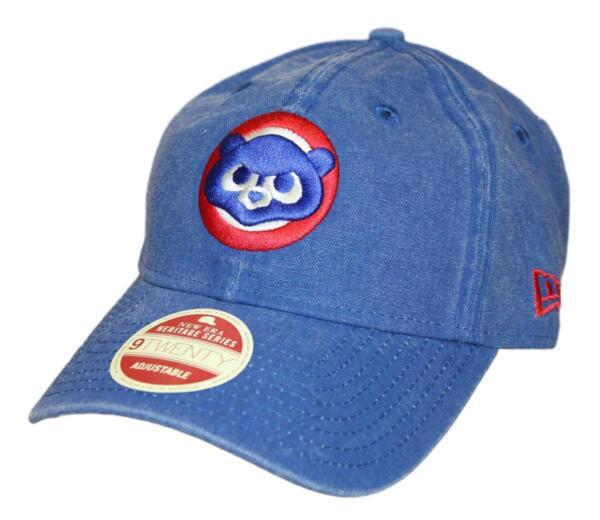 5c6bed5d4af Chicago Cubs New Era MLB 9Twenty Cooperstown Classic Wash Adjustable Hat -  1984