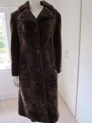 Utile Vintage/retrò Cappotto In Montone Da John Paterson Di Northampton Venduti Da Brian Pellicce-mostra Il Titolo Originale