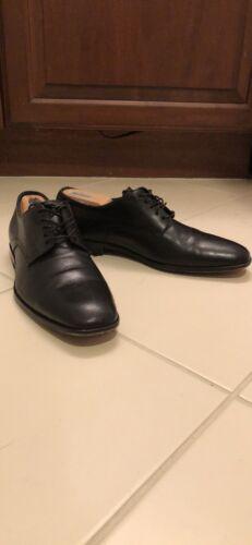 HUGO BOSS mens Derby Dress shoes Black US 8.5