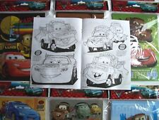 24 pcs Disney Pixar Cars Coloring Book & 96 Crayon Set Boys Gift Bag Filler