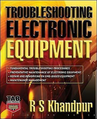 1 of 1 - Troubleshooting Electronic Equipment (Tab Electronics), Good Condition Book, Kha