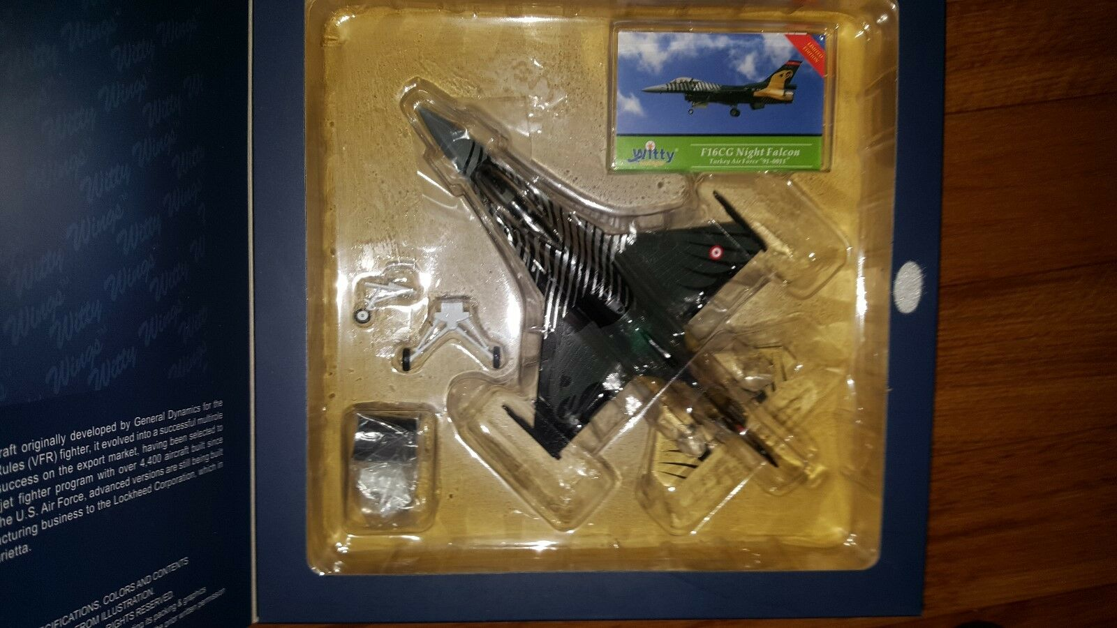 SKY GUARDIANS 1 72 F-16 CG soloteam Turquie Air Force-Rare