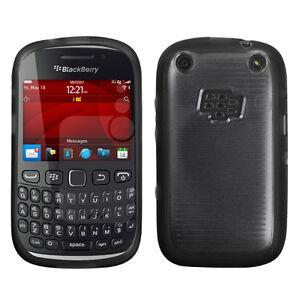 For-BlackBerry-Curve-9310-9320-TPU-Gel-GUMMY-Hard-Skin-Case-Cover-Black-Clear