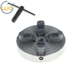 150mm 4 Jaw 6 Independent Turning Chuck For Lathes With 34 X 16tpi Threads