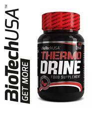 BioTech USA THERMO DRINE 60caps. Green Tea L-Carnitine Caffeine Extract Free P&P