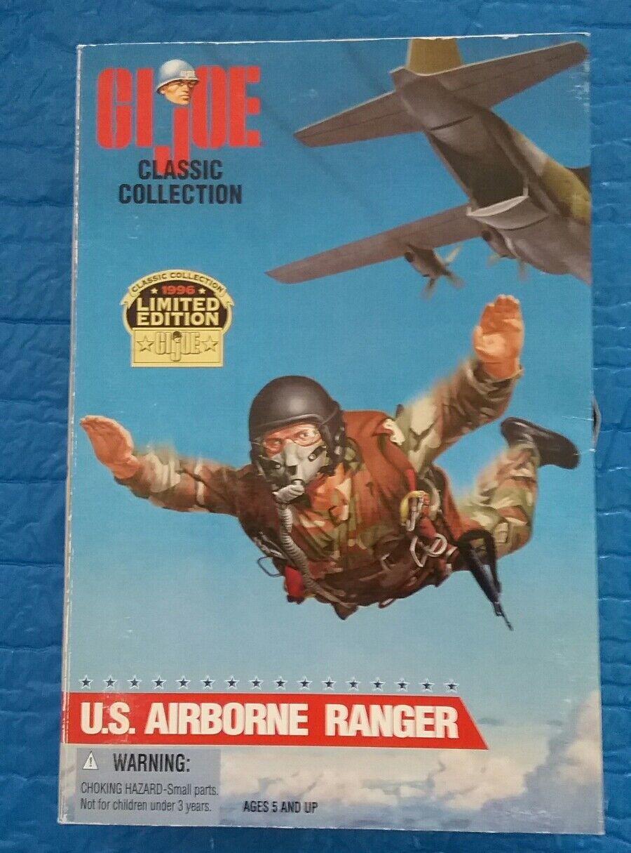GI Joe U.S. Airborne Ranger 12  Action Figure African American Version