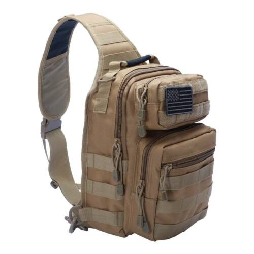 Single Shoulder Bag Camping Sling Backpack Hiking Outdoor Tactical Bags Hot sale
