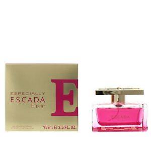 Escada Especially Elixir Eau De Parfum 75ml Spray Womens New Edp