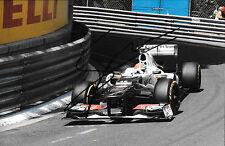 Sergio Perez SIGNED 12x8 ,Sauber-Ferrari C31, Monaco Grand Prix  2012