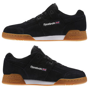 b6a8f64b5 Image is loading Reebok-Suede-Workout-Plus-Mens-Shoes-Classics-Size-