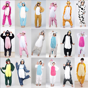 Unisex-Adult-Animal-Onesie999Xmas-Anime-Cosplay-Pyjamas-Kigurumi-Fancy-Dress-UK