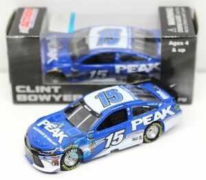 #15 Clint Bowyer 2015 Peak Antifreeze Coolant Toyota Camry Diecast 1/64