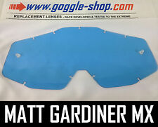 GOGGLE-SHOP REPLACEMENT LENS for 100% MOTOCROSS MX GOGGLES BLUE TINT ACCURI