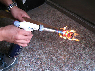 Flame Gun Gas Butane Torch Burner Welding Solder Iron Soldering Lighter Cooking