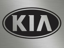 Small Kia Oval Vinyl Badge Car Decals Stickers, Rear Front Bonnet Side Window