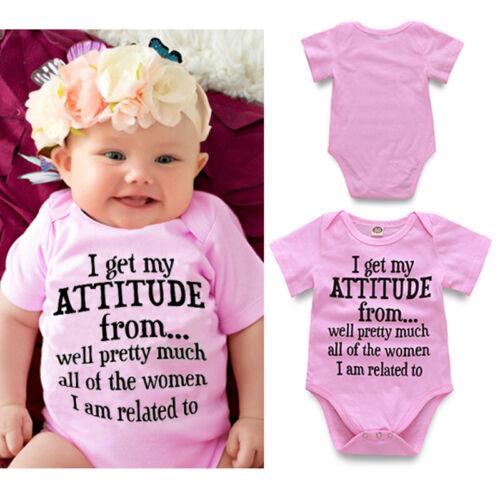 Infant Newborn Baby Girl Boy Kid Cotton Romper Bodysuit Jumpsuit Outfit Clothes