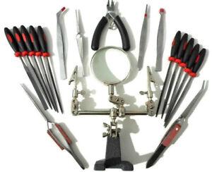 18-piezas-Kit-de-herramientas-Hobby-Craft-Airfix-Escala-Modelo-fabricantes-de-herramientas-de