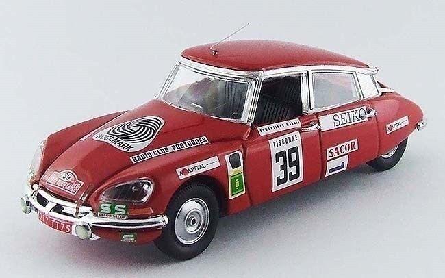 Rio 1 43 Citroen DS21  39 - Di Monte Carlo Rally 1972 - Romanzinho   Morais