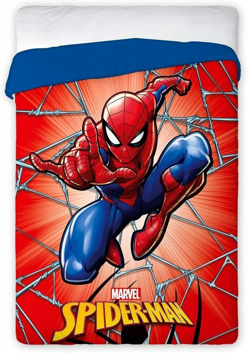 Quilt winter Spiderman single bed 170x260