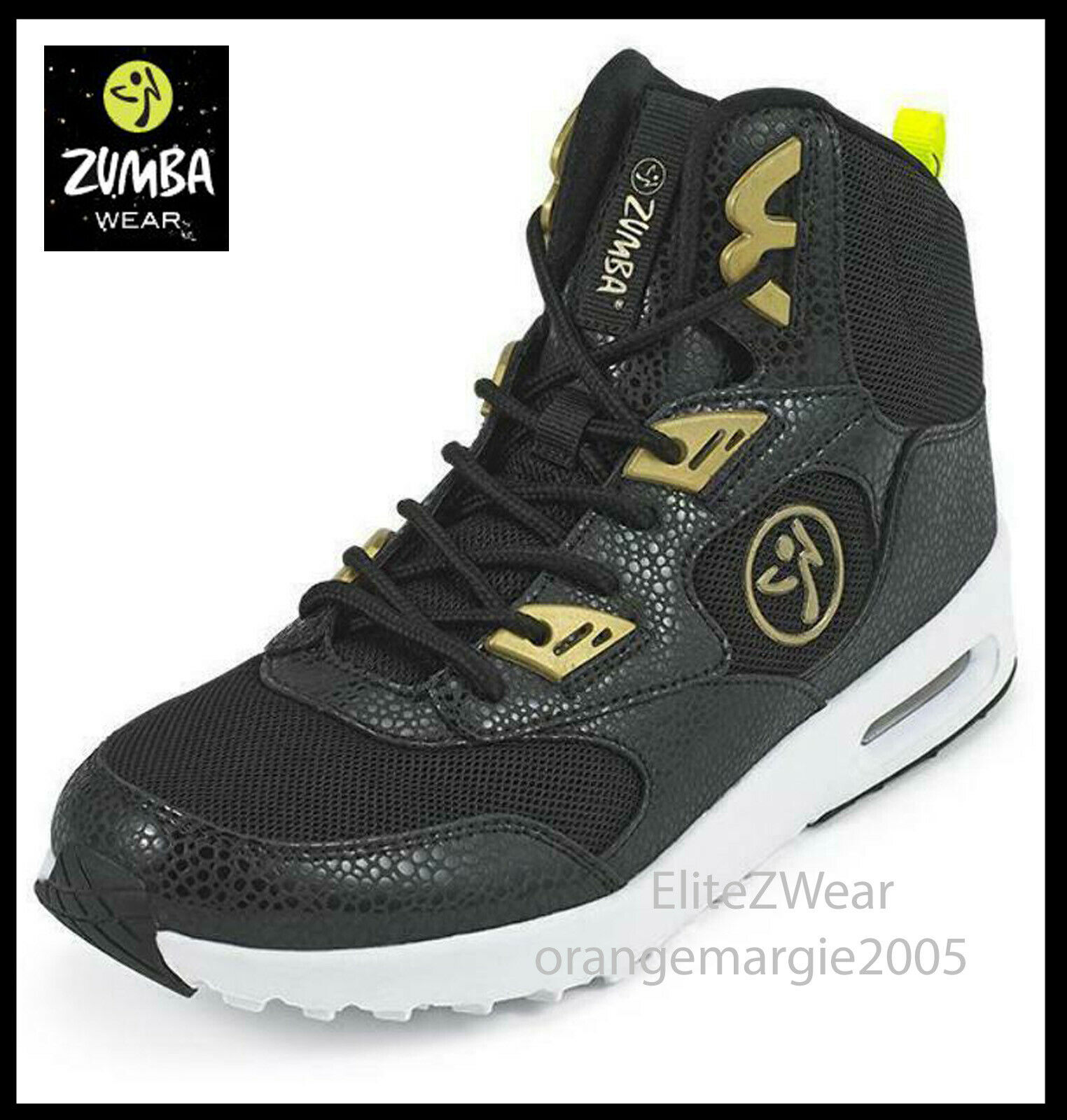 ZUMBA HIGH TOP schuhe TRAINERS Air Bounce Max -  EliteZWear fr Orlando Convention
