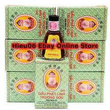 Lot 6 x 5ml Medicated Essential Oil - Dau Phat Linh Truong Son - famous oil